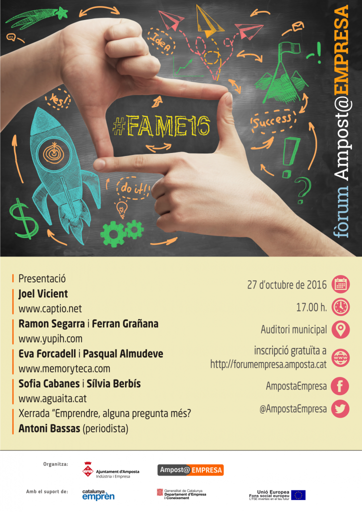 cartell FAME 2016 mitja
