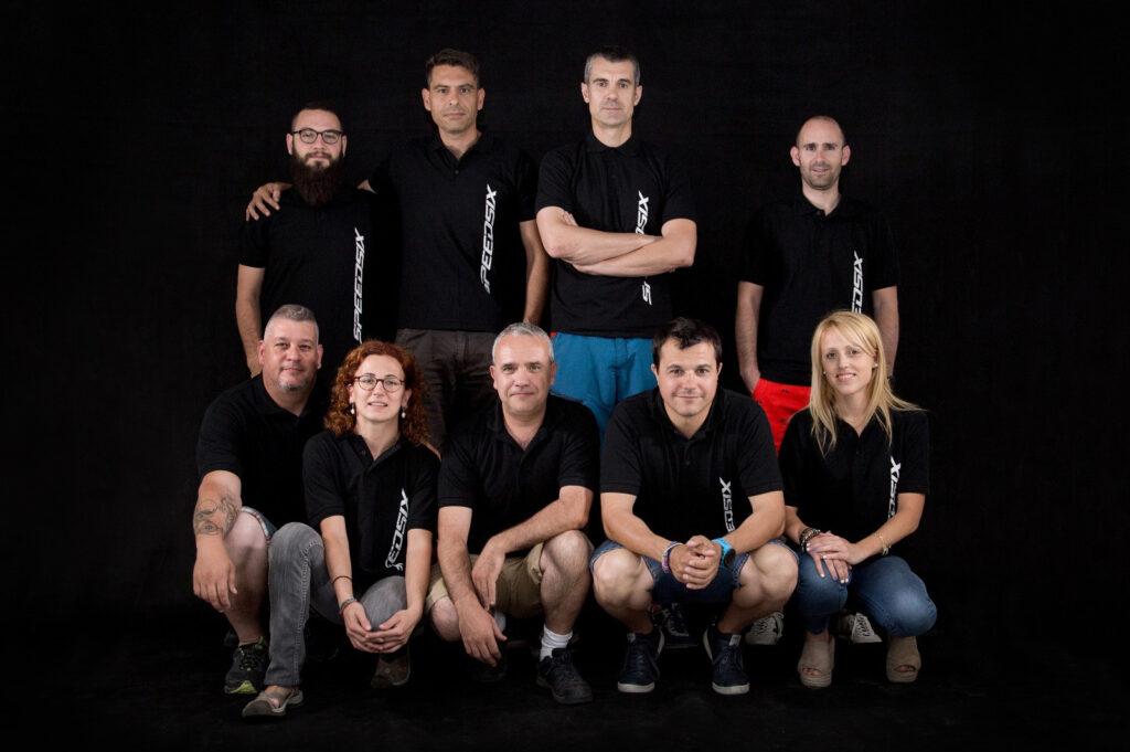 L'equip de Speedsix